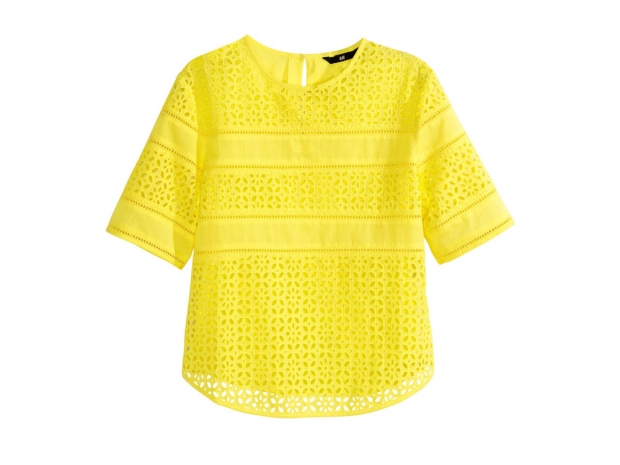 yellow, H&M £12