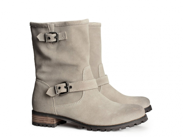 H&M Suede Boots, £49.99