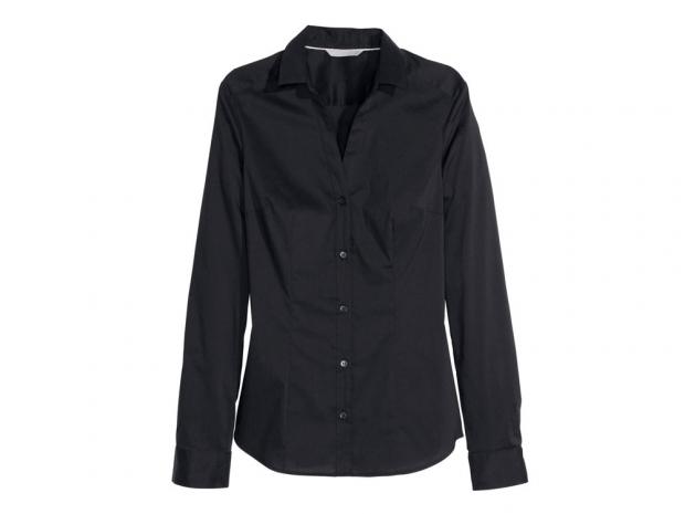 H&M Black Shirt, £12.99