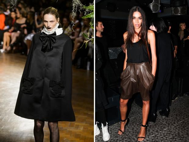 Transgender models Andreja Pejic and Lea T