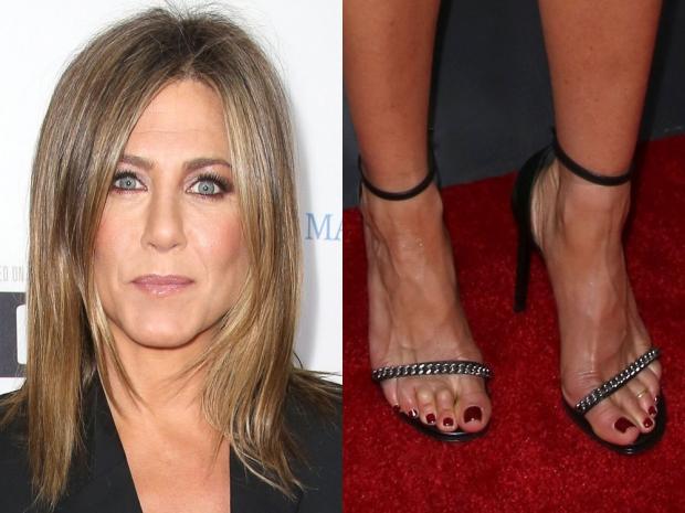 Jennifer Aniston and her feet