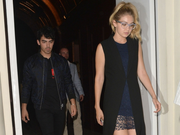 Gigi Hadid and Joe Jonas in London