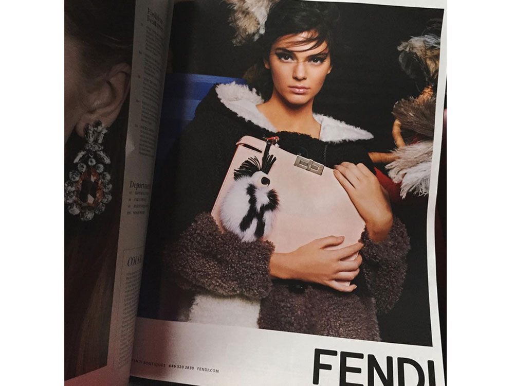 Kendall Jenner 39 S Fendi Campaign Is Finally Here Look