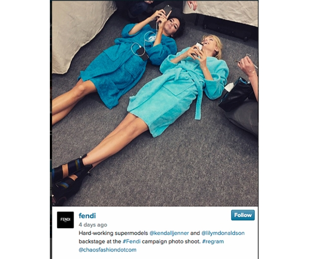 Instagram @fendi