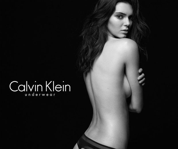 Kendall Jenner Calvin Klein advert-instagram picture-look.co.uk