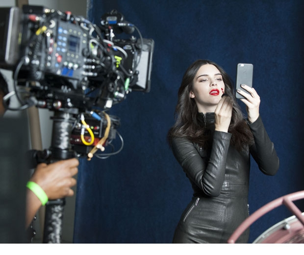Kendall Jenner poses for a selfie