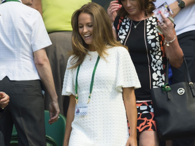 Kim Sears at Wimbledon