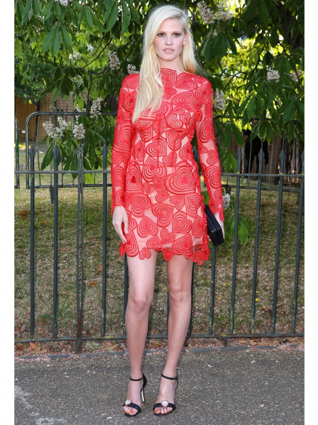 Lara Stone at The Serpentine Summer Party