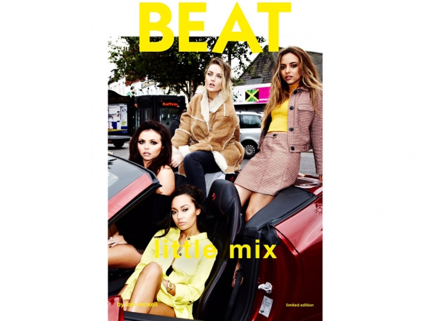 The Little Mix girls in their The Beat photoshoot