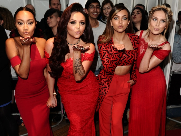Little Mix out in London