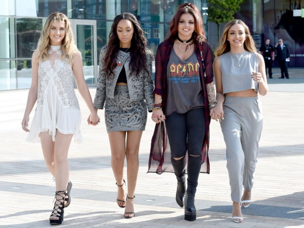 Little Mix out in Manchester