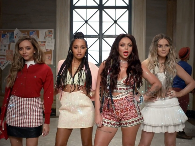 Little Mix in their Black Magic video