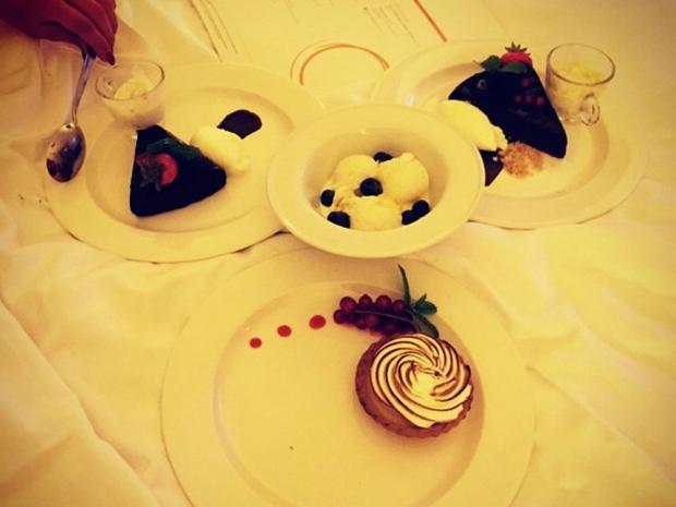 Little Mix's desserts in Instagram photo