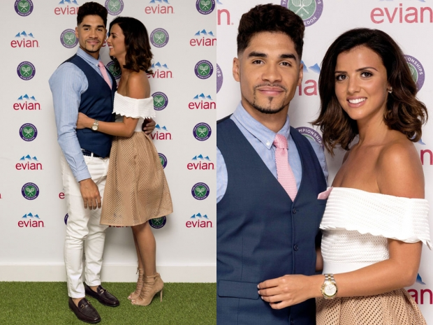 Louis Smith And Lucy Mecklenburgh At Wimbledon