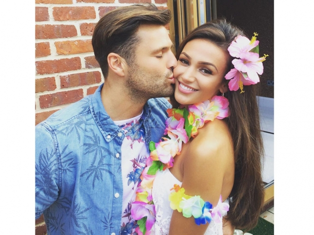 Michelle Keegan and Mark Wright's party