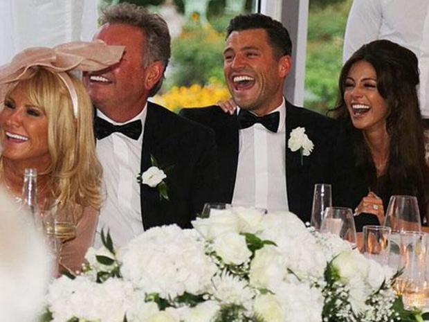 Josh Wright's photo of Mark Wright and MIchelle Keegan's wedding