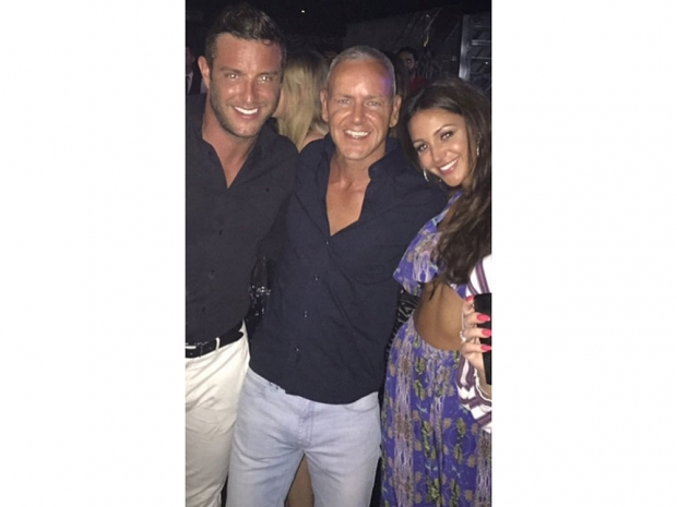 Michelle Keegan and Mark Wright in Marbella