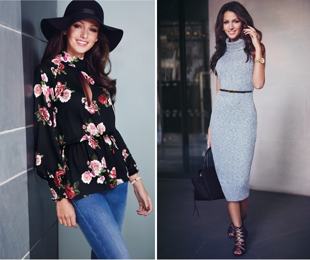 Michelle Keegan's AW15 Lipsy collection