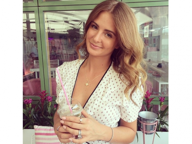 Millie Mackintosh at Wimbledon in Instagram photo