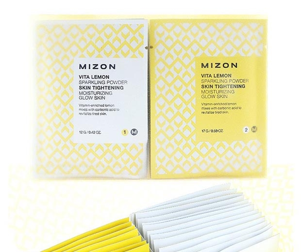 Mizon Vita Lemon Sparkling Powder Duo, £10