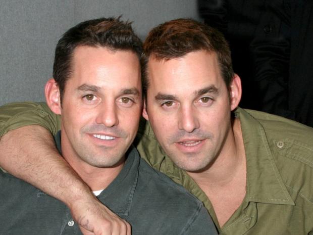 Nicholas Brendon and Kelly Donovan