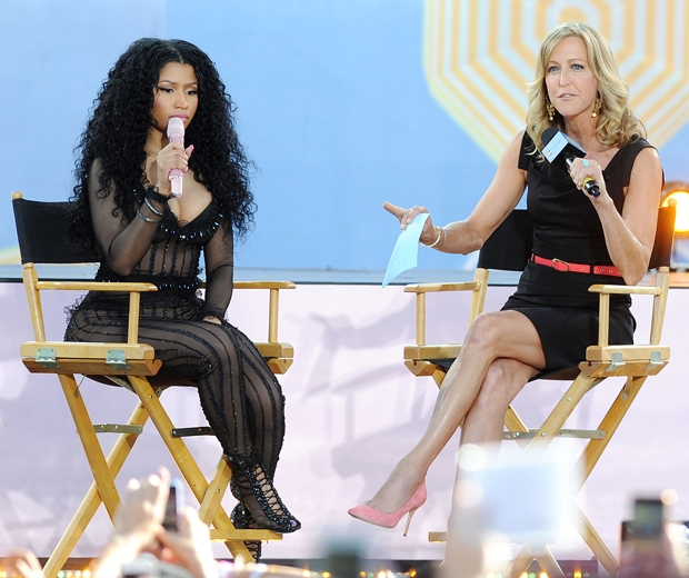 Nicki Minaj spoke about Taylor Swift on Good Morning America...