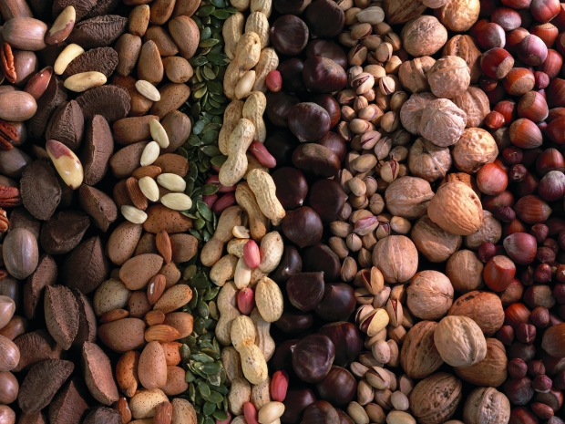 lots of nut are allowed on the pegan diet