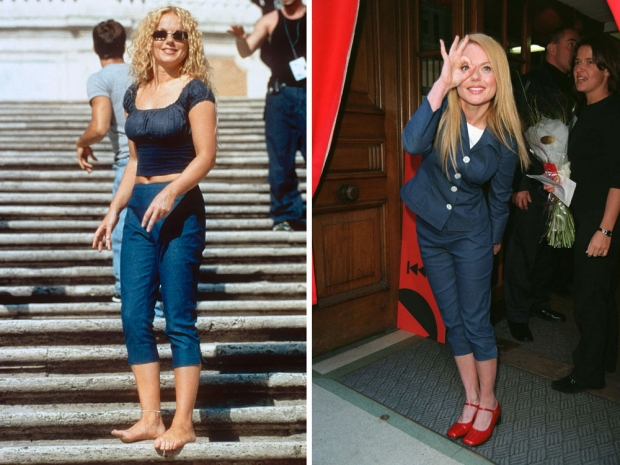 Geri Halliwell in pedal pushers