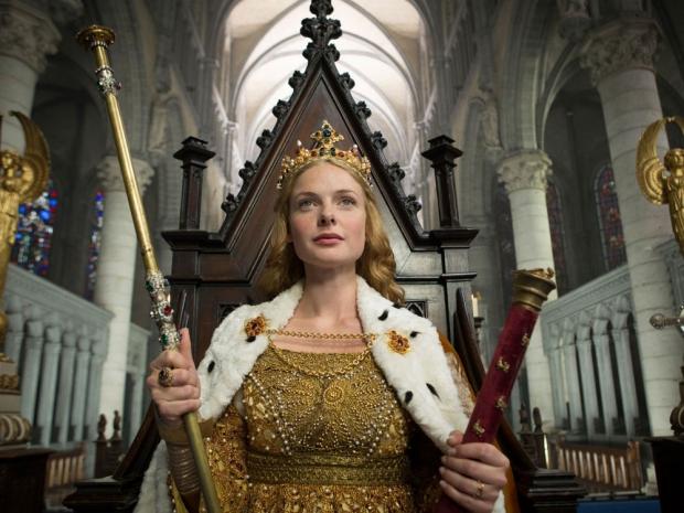 Rebecca as The White Queen in the BBC drama