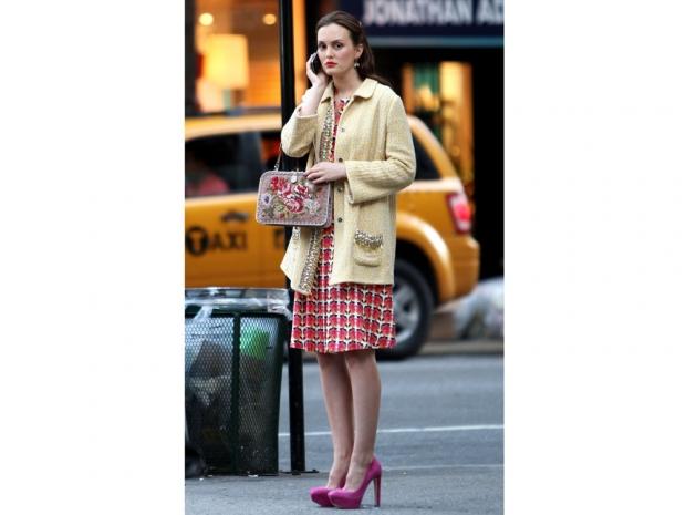 Blair Waldorf in an episode of Gossip Girl.