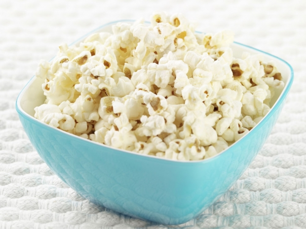 Popcorn, healthy snacks