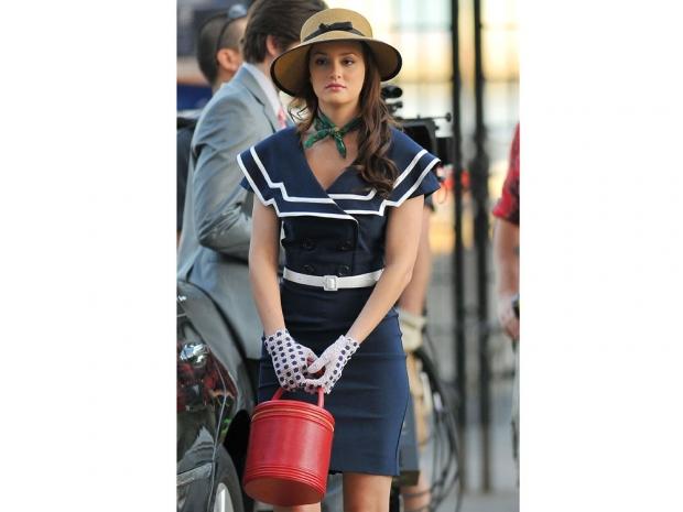 Blair Waldorf in season 1 of Gossip Girl.