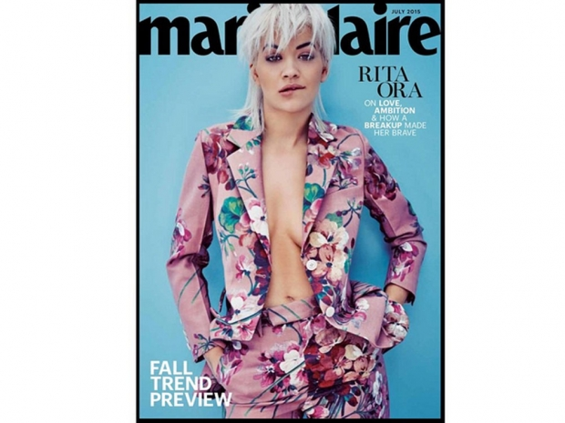 Rita Ora Marie Claire Cover 2015 July