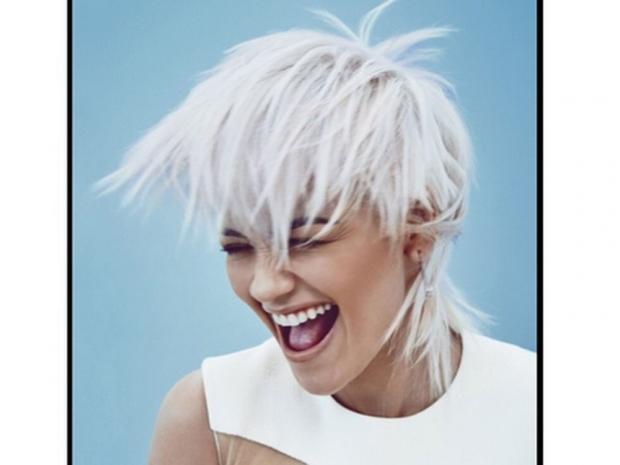 Rita Ora Marie Claire Hair