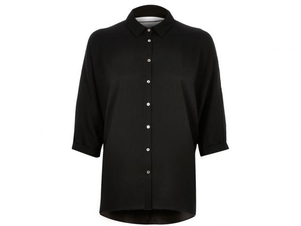 River Island, Black Shirt, £35