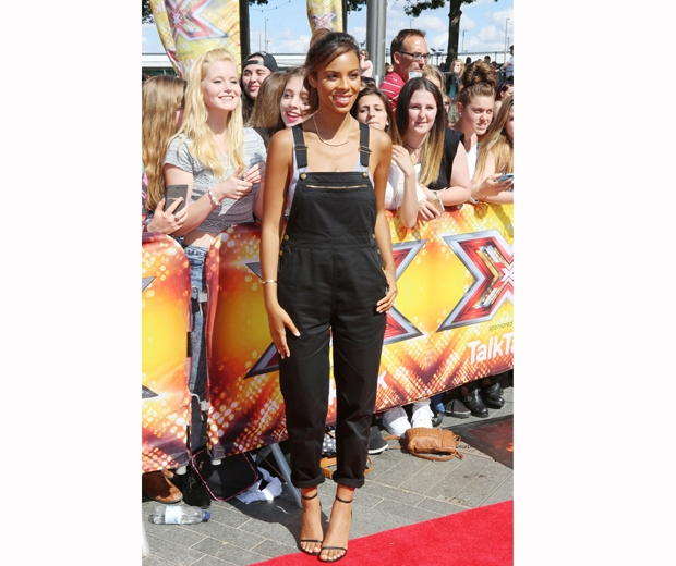 rochelle humes at the london x factor auditions