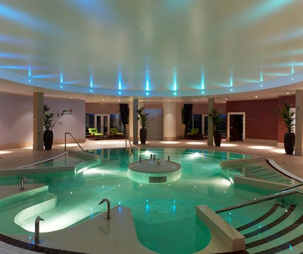 swimming pool at rockliffe hall spa - look.co.uk