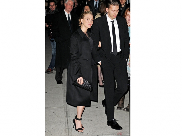 Scarlett & Hunter Johansson