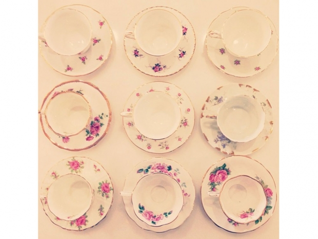 Lauren Conrad's teacups.