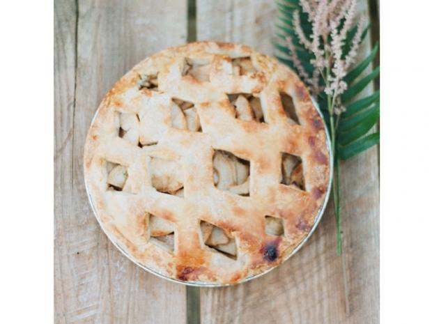 Lauren Conrad's apple pie.