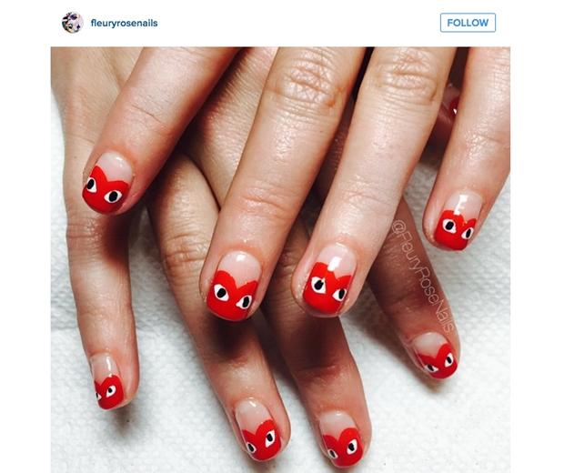 nail art instagram fleuryrosenails