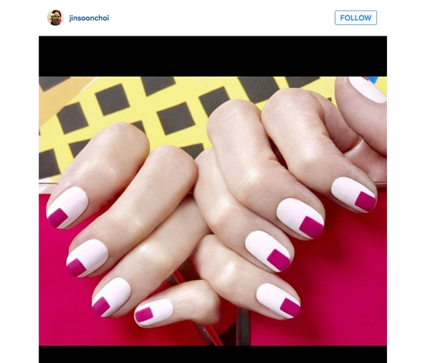 Nail art instagram Jinsoonchoi