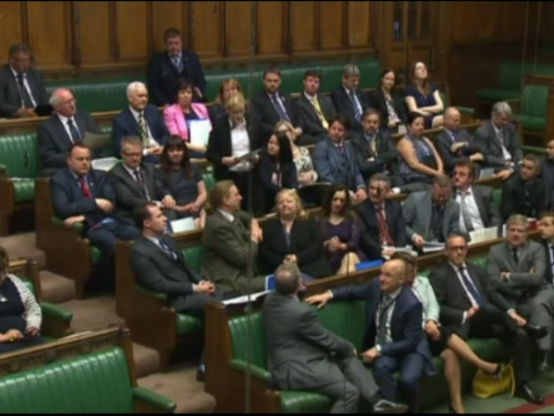 Mhairi Black had the Houses Of Parliament transfixed