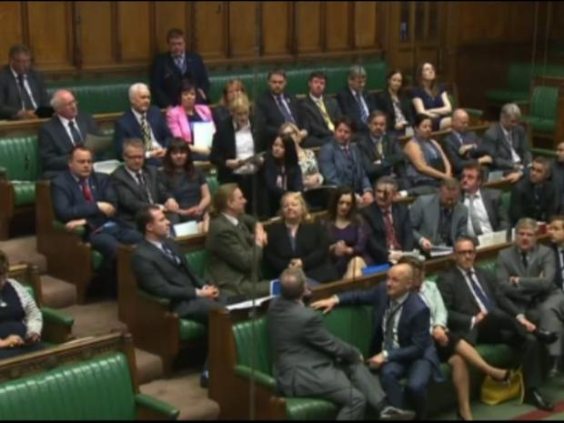 Mhairi Black had the Houses Of Parliament transfixed