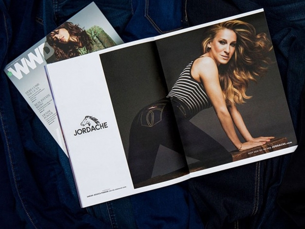 Sarah Jessica Parker in the new Jordache campaign.