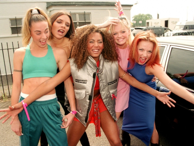 The Spice Girls in the 1990s