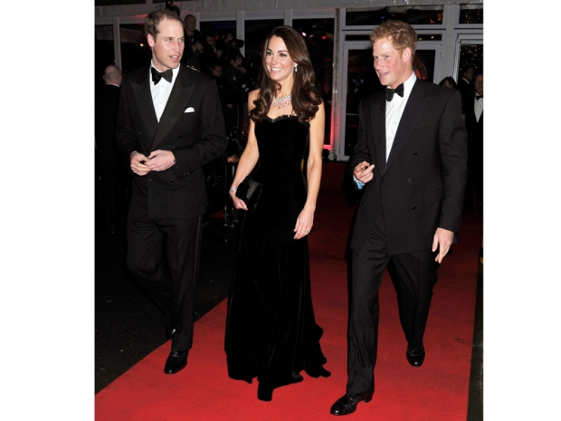 Kate Middleton at the Sun Military Awards in 2011.
