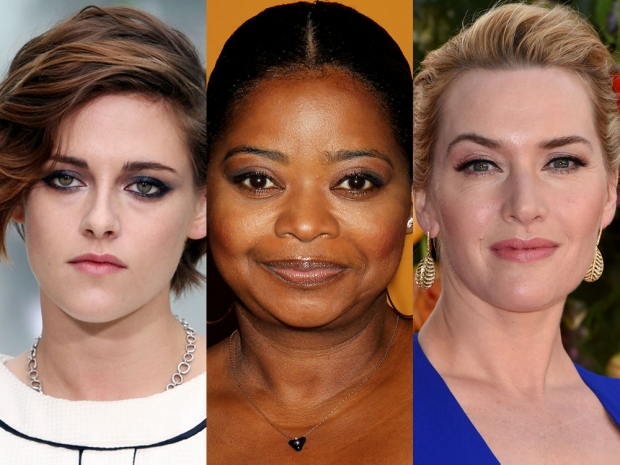 Kristen Stewart, Octavia Spencer and Kate Winslet