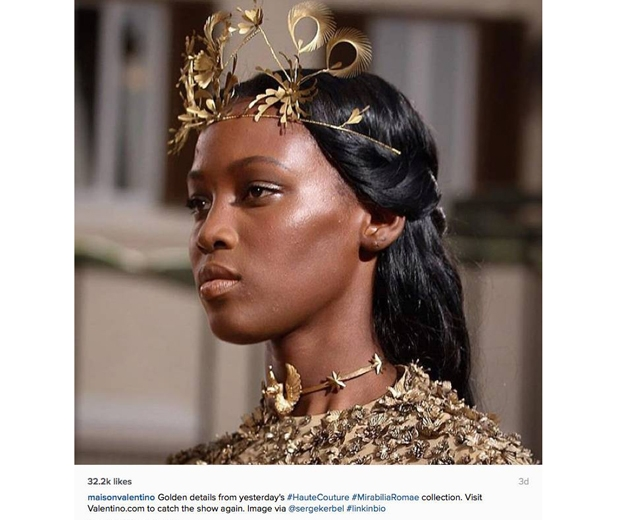 Valentino makeup-paris couture week aw2015-instagram-look.co.uk