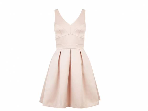 pink dress, Warehouse, £65